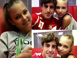 Yahoo: Alonso e sua nova namorada