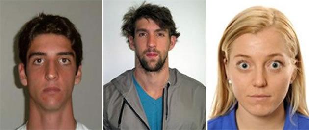 Yahoo: credenciais olímpicas de atletas. FOTOS