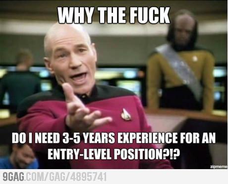 9gag: pra que experiência?