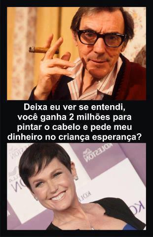 FB: Xuxa vs Criança Esperança