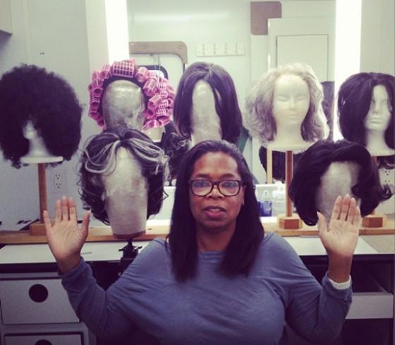 Twiiter: Oprah sem maquiagem!
