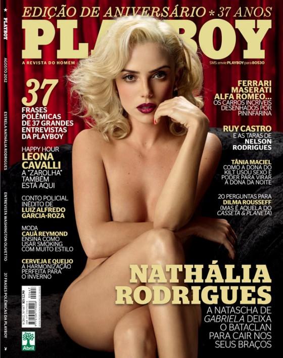 Revista: capa da próxima playboy