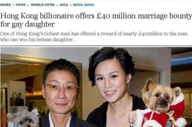 Quer ficar milionário? Casa com ela!!!
