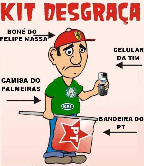 Facebook - Kit desgraça